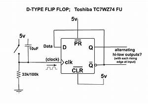 Simple Flip Flop Wiring For Audio A  B Channel Switch