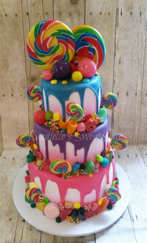 25 best ideas about candy birthday cakes on pinterest