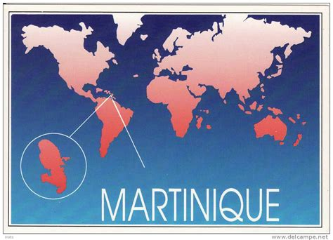 Martinique Carte Monde by Carte Du Monde Martinique Carte 2018