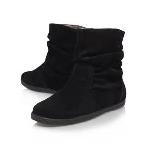 s boots nine nine rockinout flat ankle boots in black lyst