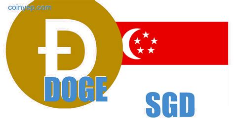 Dogecoin - Singapore dollar (DOGE/SGD) Free currency ...