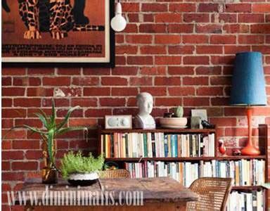 dinding  plester sebagai seni memperindah rumah