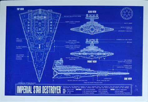 Imperial Star Destroyer Blueprint Star Wars Zanart Zanart
