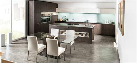 cuisine ouverte ilot cuisine en l moderne avec îlot en 108 photos magnifiques