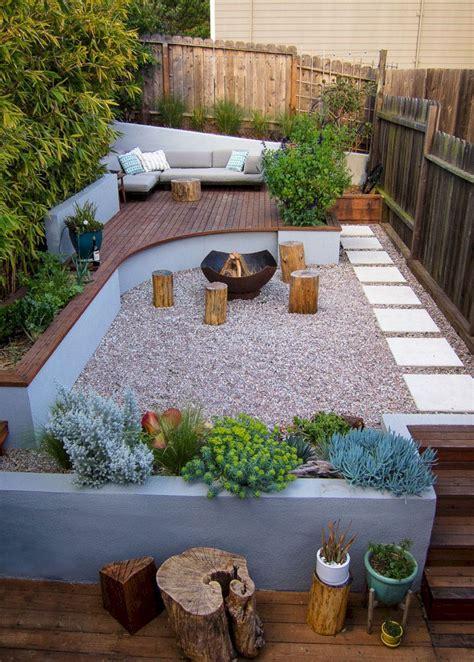 pin  resa  outdoor living small backyard decks