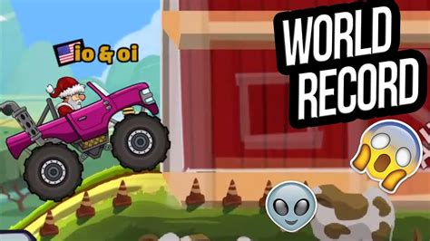 hill climb racing monster truck hill climb racing 2 world record in countryside with