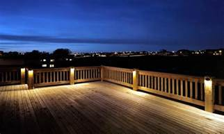 Outdoor LED Deck Lighting Ideas