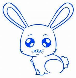 Lapin Facile A Dessiner : comment dessiner un lapin etape par etape animaux en ~ Carolinahurricanesstore.com Idées de Décoration