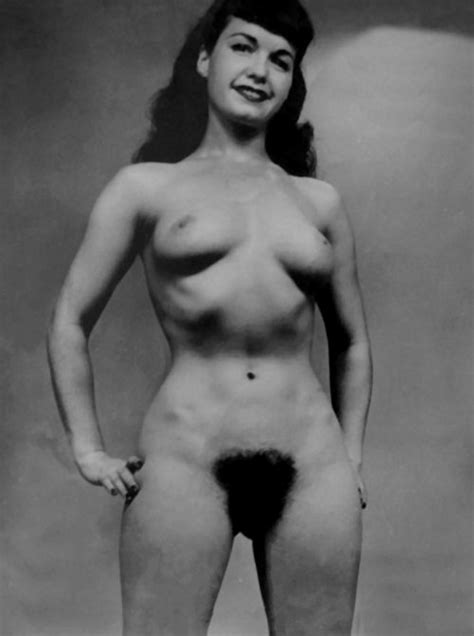 bettie page hairy