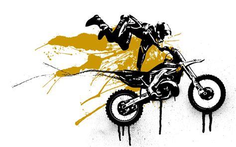 Papier Peint De Bureau - fond d 39 écran de motocross