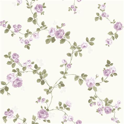 purple shabby chic wallpaper luxury shabby chic vintage purple floral rose trail kidston styl cream wallpaper ebay