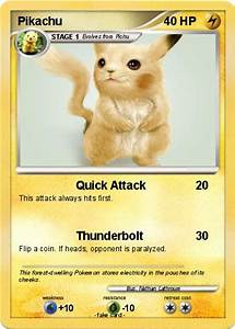 Pokémon Pikachu 10047 10047 - Quick Attack - My Pokemon Card