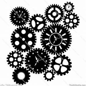 clock gears clip art | Upper El Ideas | Pinterest