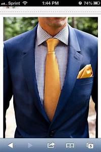 Navy Suit With Yellow Tie Edwin39s Pinterest Ties