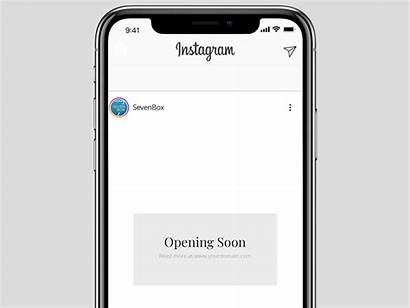 Instagram Template Psd Stories Story Templates Mockup