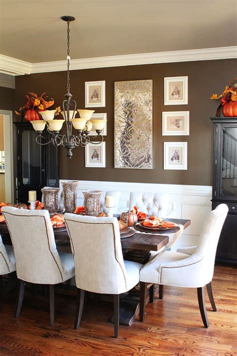 fall dining table decorations fall dining room table kevin amanda food travel blog