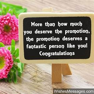 Congratulations Cards For Promotion