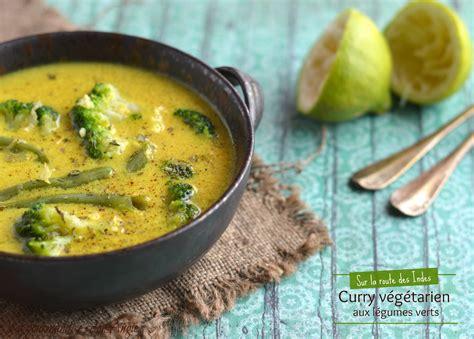 oignon blanc cuisine curry végétarien aux légumes verts la gourmandise selon