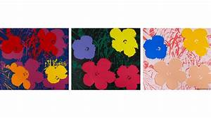 The painting of Andy Warhol Flowers wallpapers and images ...