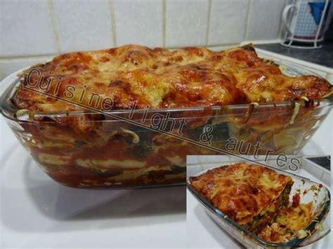 recettes de cuisine light recettes de lasagnes de cuisine light autres