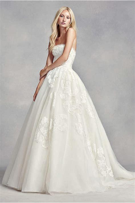 White By Vera Wang High Neck Halter Wedding Dress David
