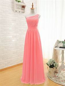 popular coral colored bridesmaid dresses buy cheap coral With wedding dresses with coral color