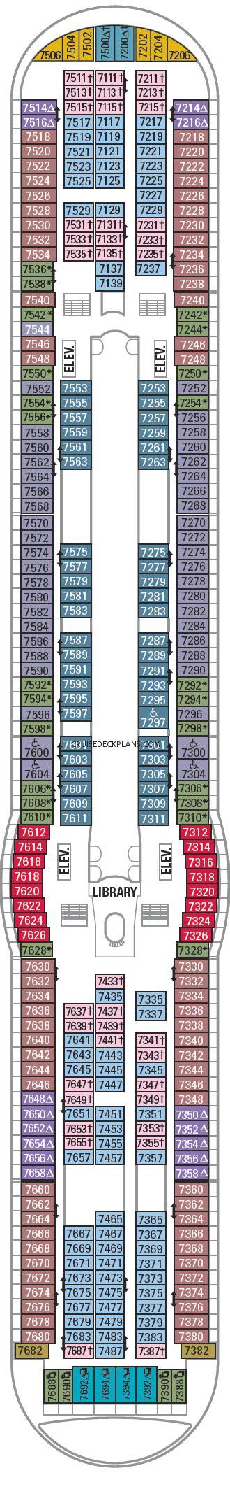 Explorer Of The Seas Deck 7 Deck Plan Tour