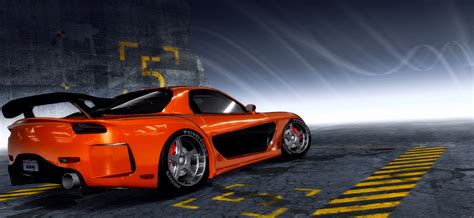 speed pro street mazda rx fd nfscars