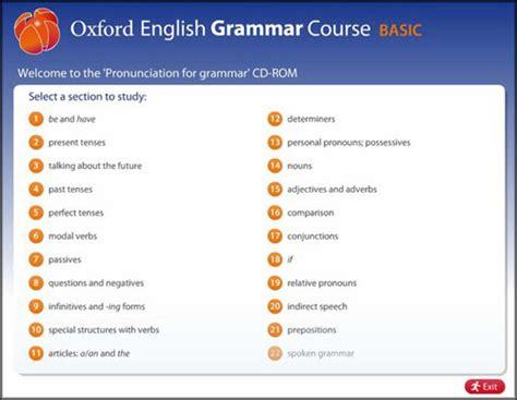 Oxford English Grammar Course Basic Indir