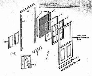 Sears 65622311271 Storm  U0026 Screen Doors Parts