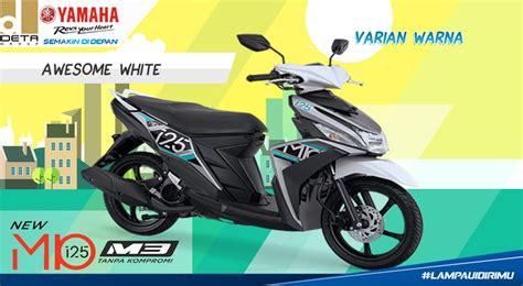 Mio Z And Yamaha X Ride 125 by New Mio M3 125 Putih 2017 Kredit Motor Yamaha Bandung