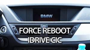 Bmw Idrive Cic Force Reboot Reset  E87 E90 E60 X1 X3 X5