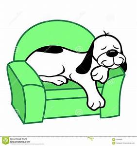 Dog in chair clipart collection