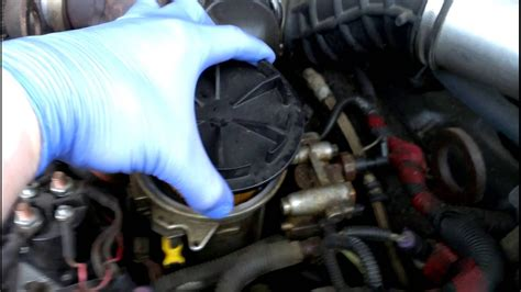 Ford 7 3 Fuel Filter Change by 1996 Powerstroke Fuel Filter And Change