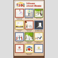 10 Idioms About Home [infographic]  Grammar Newsletter