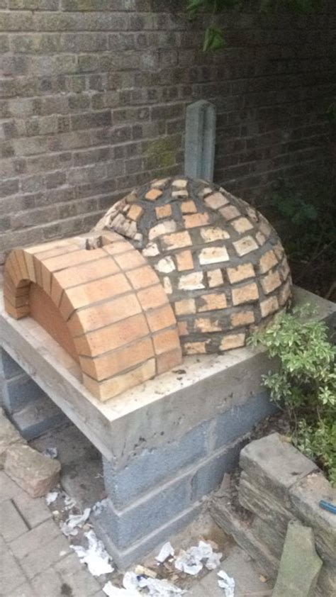 steps    outdoor brick pizza oven diy guide