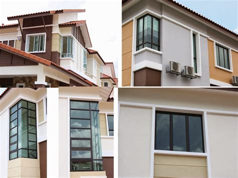 Residential Window Types Of Home Designs  Modern Home