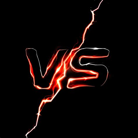 Versus vs logo. modelo de título de batalha. projeto ...