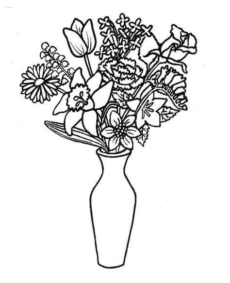 dibujos para colorear floreros 23 dibujos para colorear para ni 241 os in 2019 florero dibujo