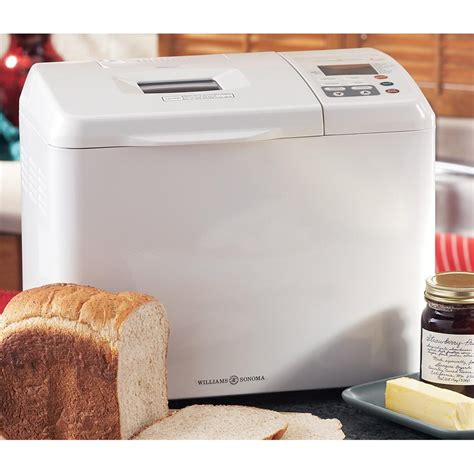 machine cuisine williams sonoma 174 grande cuisine 174 automatic bread maker