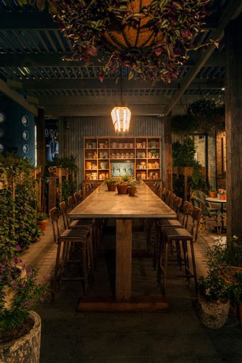 Potting Shed Bar And Restaurant by The Best Cafe Bar And Restaurant Interiors Of The Year