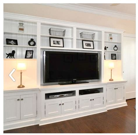 built in wall unit with desk and tv custom built entertainment center ideas woodworking