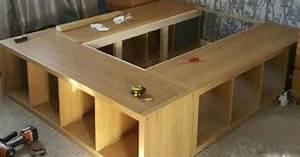 Ideen Mit Ikea Möbeln : bett selber bauen ikea kallax ~ Lizthompson.info Haus und Dekorationen