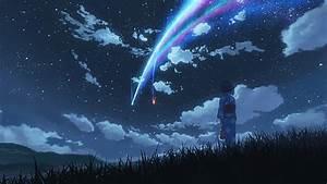 Hd, Wallpaper, Body, Of, Water, Your, Name, Sky, Stars, Kimi, No, Na, Wa, Lights, Anime