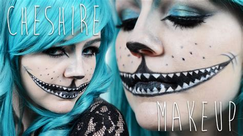 tuto maquillage le chat du cheshire youtube