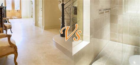marble kitchen floor marble vs travertine tiles 4011