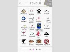 Logo Quiz Answers Level 115 for iPhone, iPad, and Android