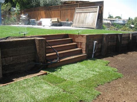 34 Best Railroad Sleepers As Retaining Walls Images On