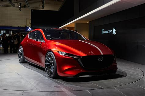 mazda coupe mazda kai and vision coupe concepts reveal carbon fiber in