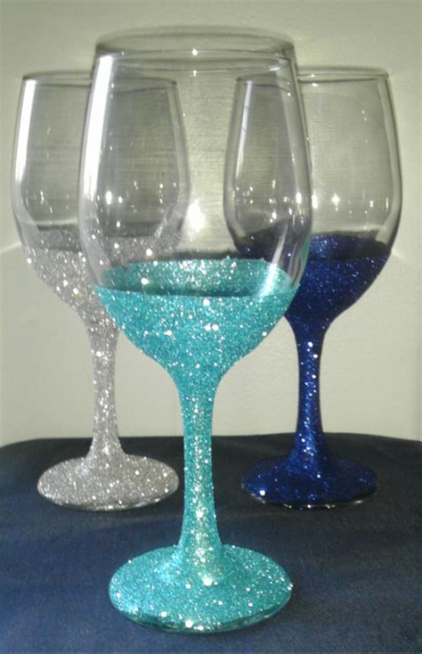 wedding glasses got bling easy d i y bridesmaid gift engage be married